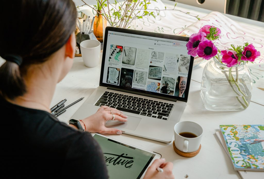 Your online presence show your brand and designs. Make it appealing to potential clients.